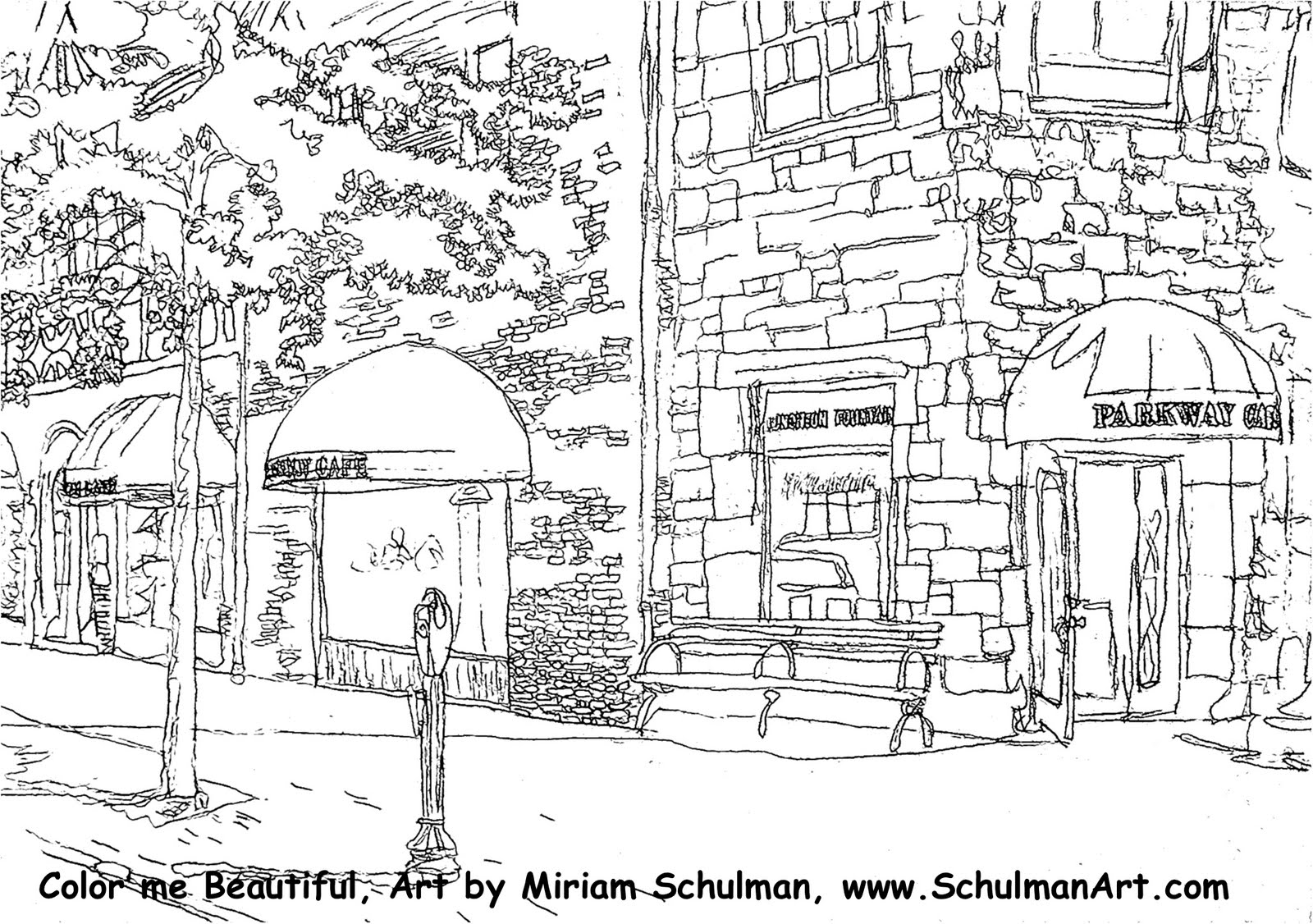 street coloring pages coloring pages for kids at scarsdale art association show coloring street pages