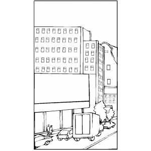 street coloring pages times square coloring pages times square nyc pages coloring street