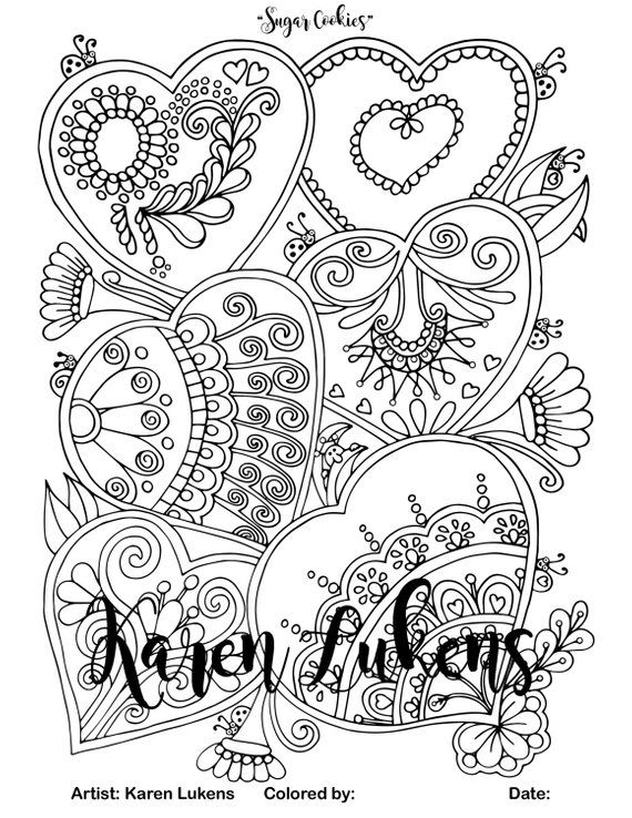sugar cookie coloring page pin on антистресс cookie page sugar coloring