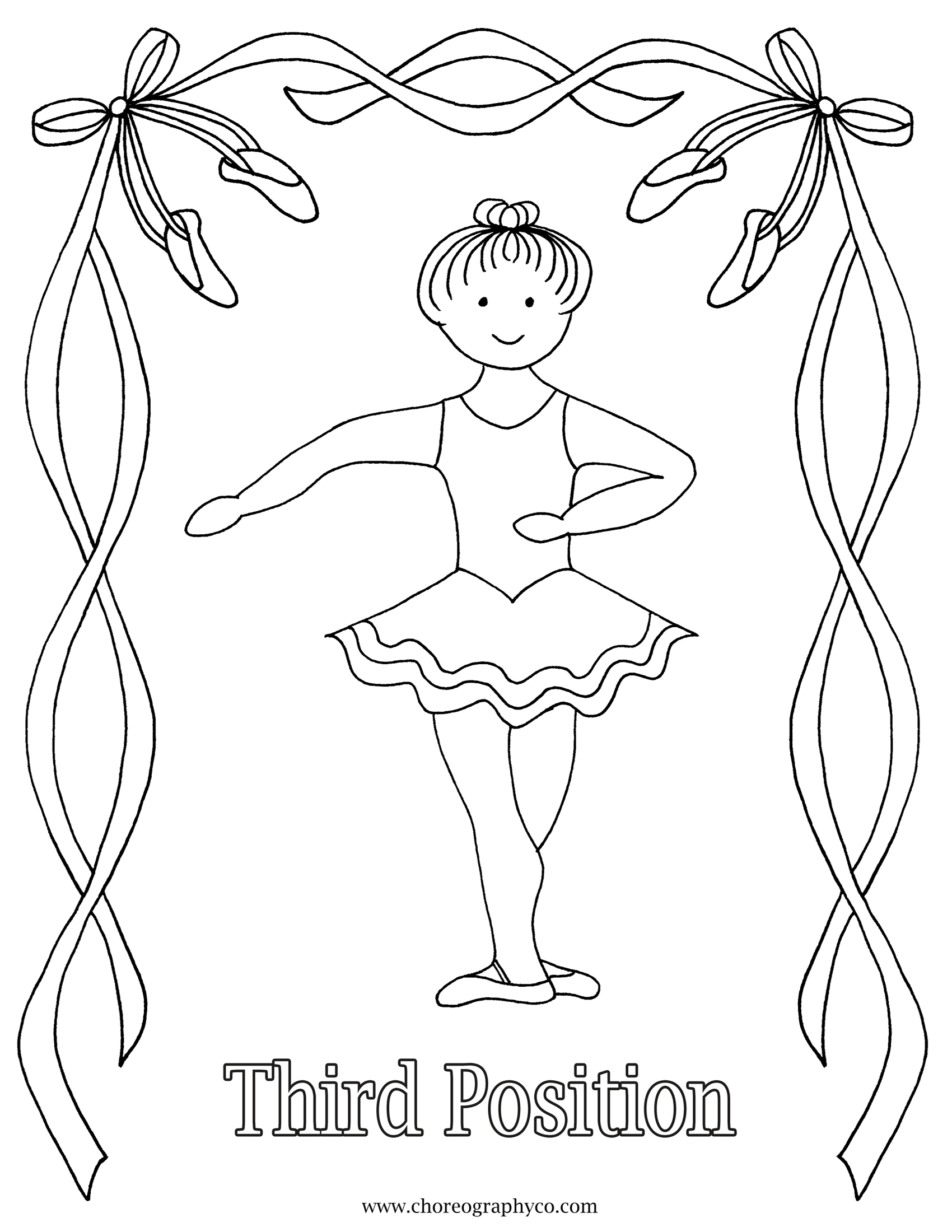 sugar plum fairy coloring page 3 stretches adult ballet students should do every morning plum page sugar coloring fairy