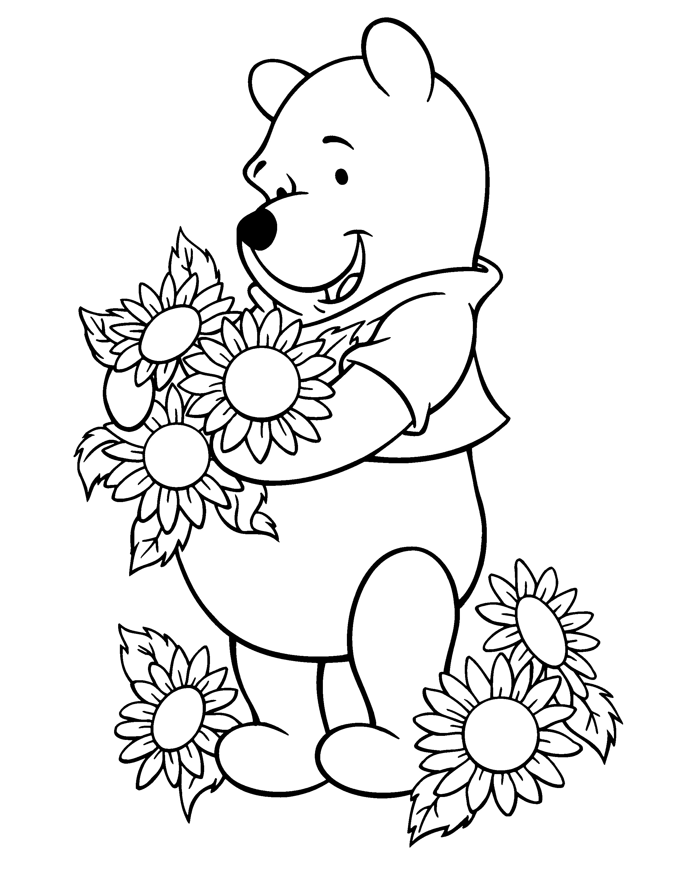 sunflower coloring sunflower coloring pages to download and print for free sunflower coloring