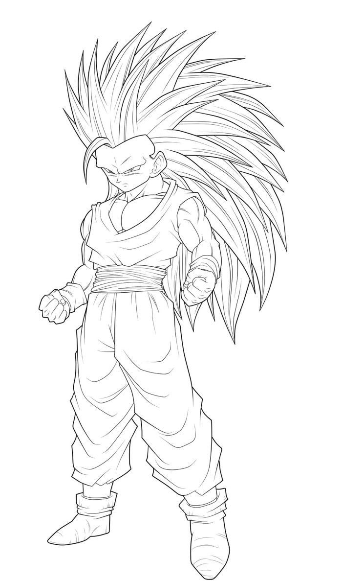 super saiyans coloring pages dragon ball full power goku super saiyan 3 coloring pages pages saiyans coloring super
