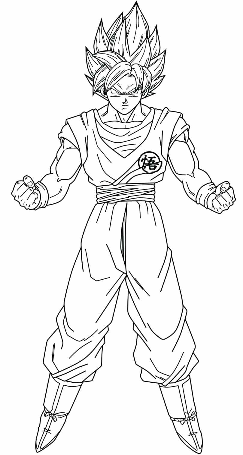 super saiyans coloring pages gohan super saiyan 3 coloring pages jawar pages saiyans coloring super