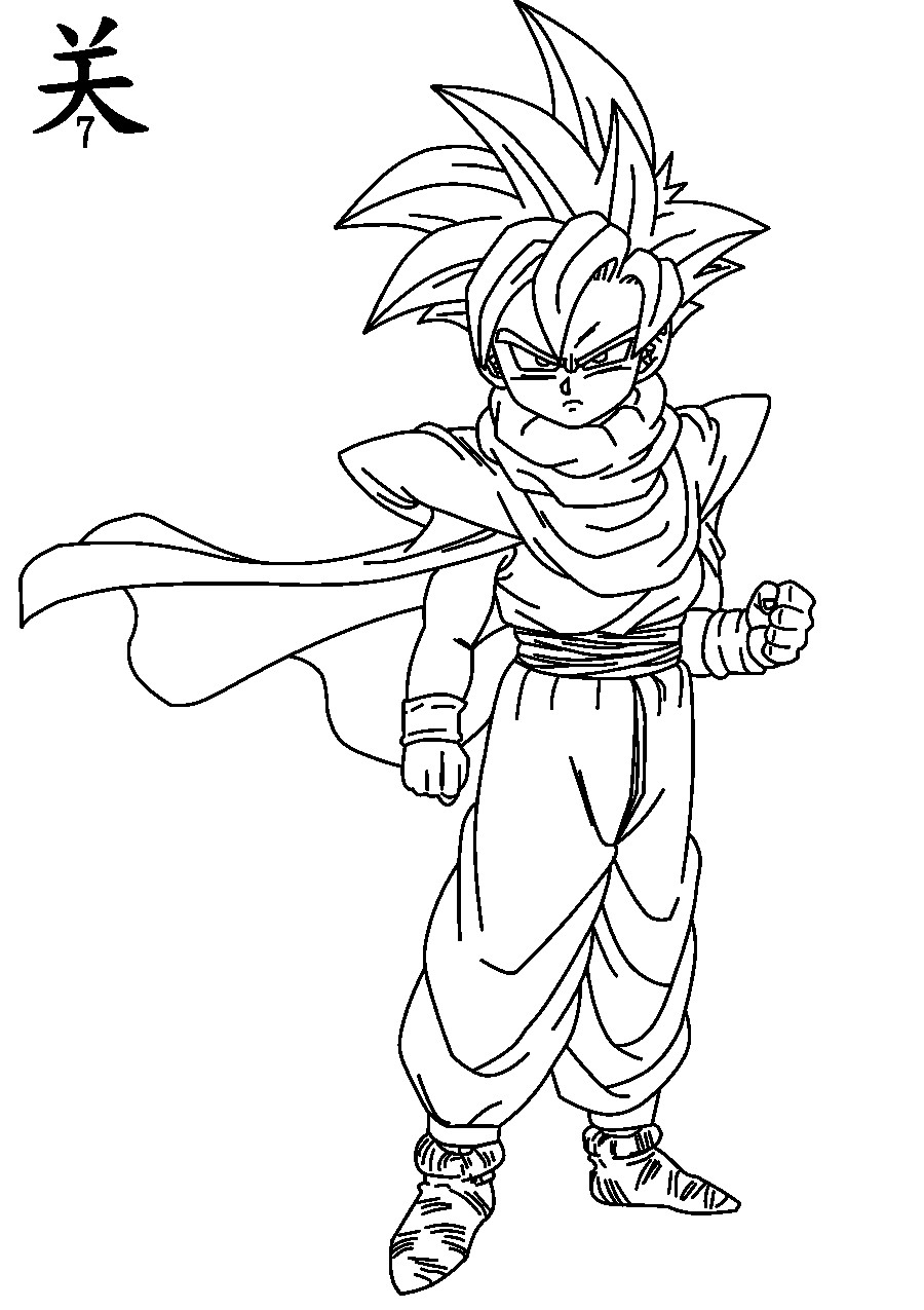 super saiyans coloring pages goten super saiyan coloring pages download and print for free super pages saiyans coloring