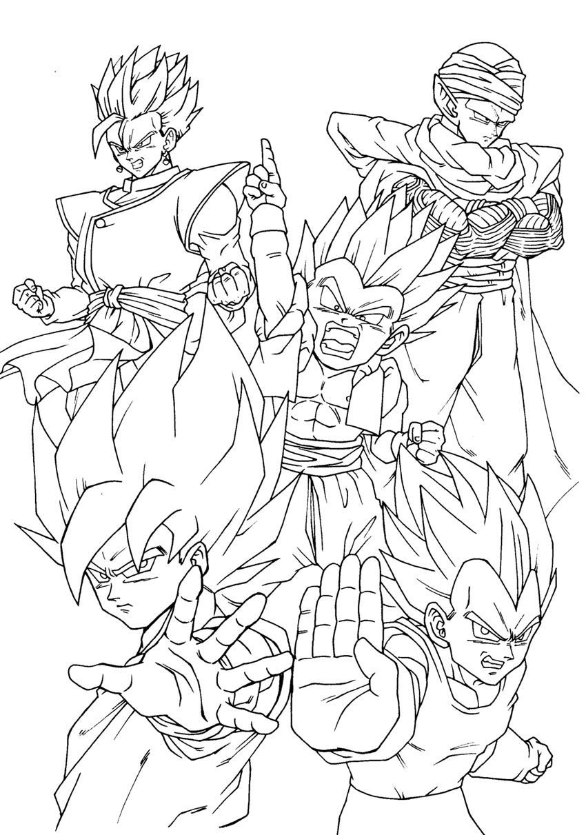 super saiyans coloring pages goten super saiyan coloring pages free printable goten super pages saiyans coloring
