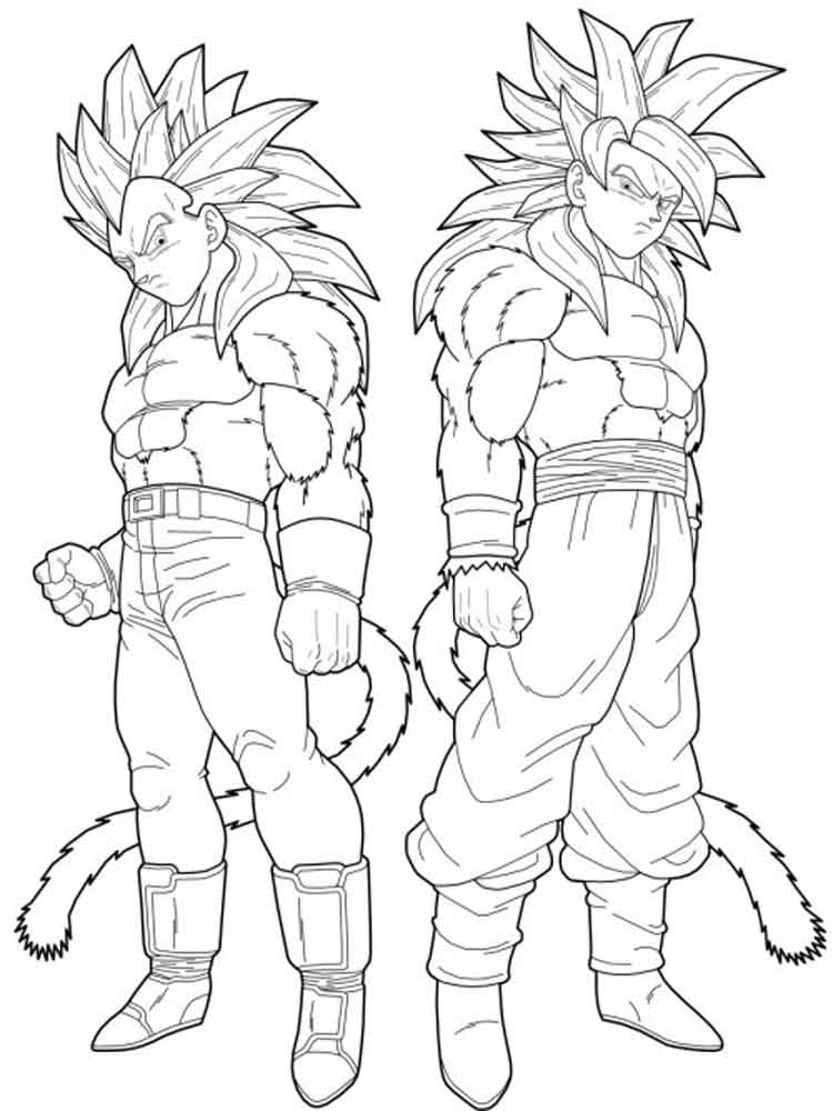 super saiyans coloring pages joe blog goku super saiyan 3 coloring pages to print super pages coloring saiyans