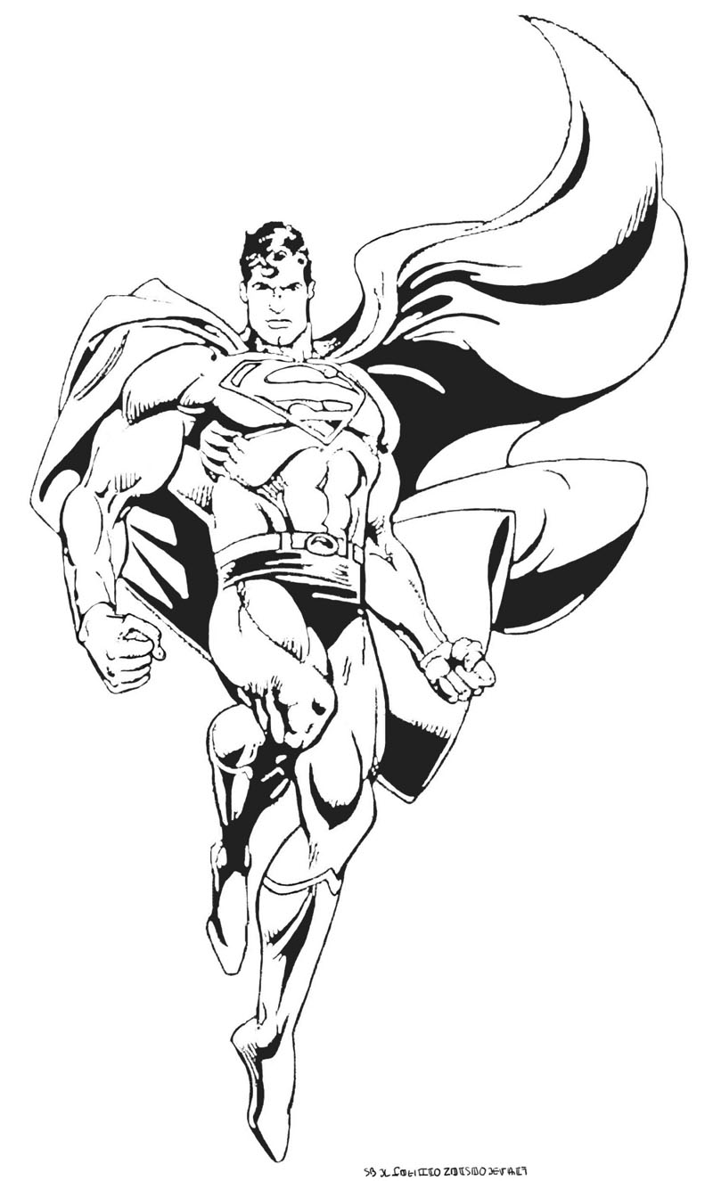 superman cartoon pictures for colouring coloring picture of a superman cartoon pictures colouring for superman