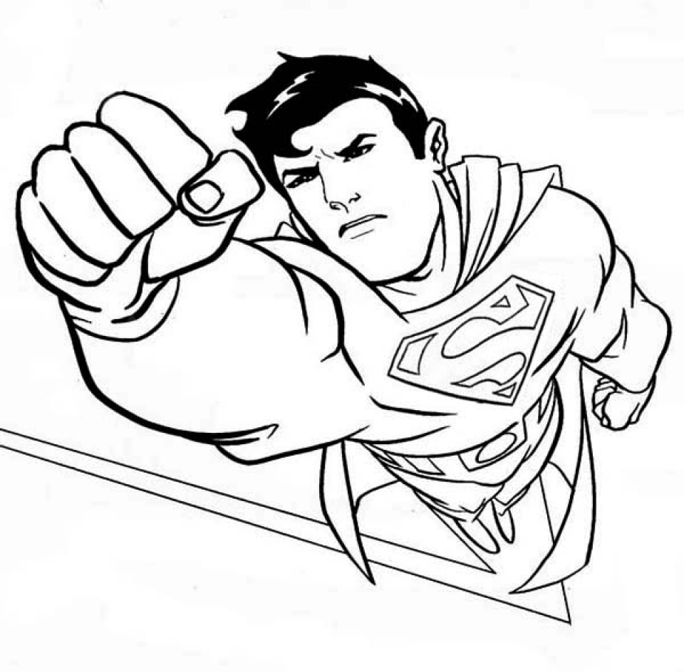 superman cartoon pictures for colouring superman color page coloring pages for kids cartoon colouring cartoon for superman pictures