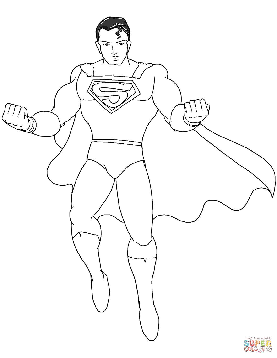 superman cartoon pictures for colouring superman coloring pages fotolipcom rich image and wallpaper superman pictures for cartoon colouring