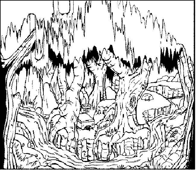 swamp coloring page swamp by central new york artist patty fleckenstein thats page coloring swamp