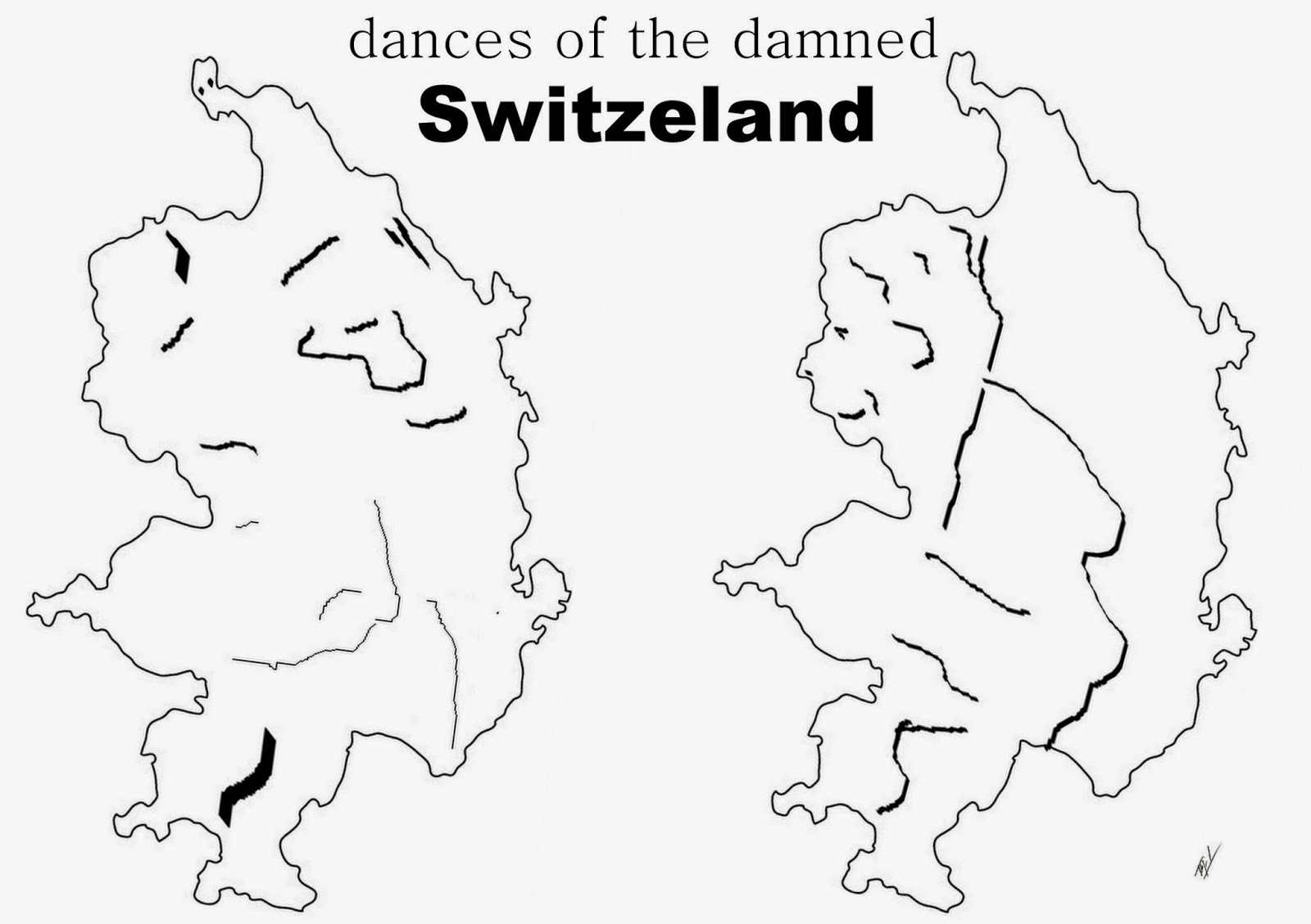 switzerland outline map funny maps funny maps of switzerland switzerland map outline