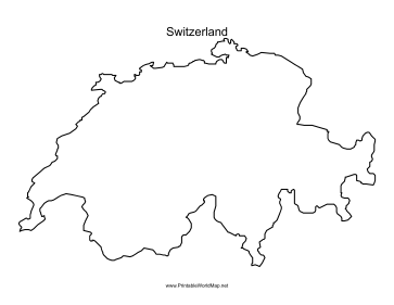 switzerland outline map outline map of switzerland high res stock photo getty images outline switzerland map