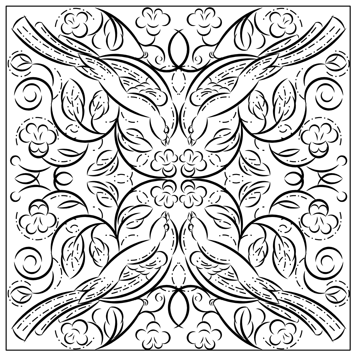 symmetry colouring sheets nicole39s free coloring pages symmetry coloring pages sheets symmetry colouring