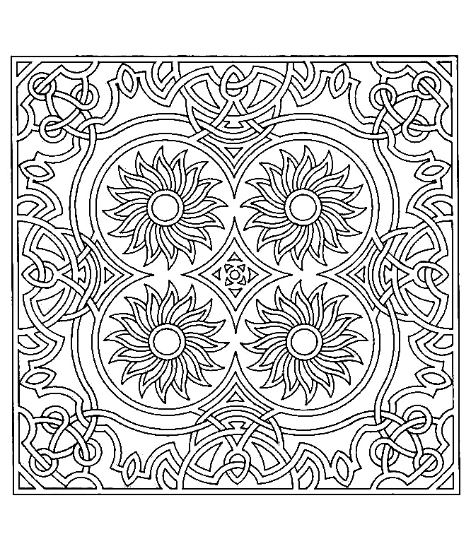 symmetry colouring sheets symmetry tournesols anti stress adult coloring pages sheets colouring symmetry