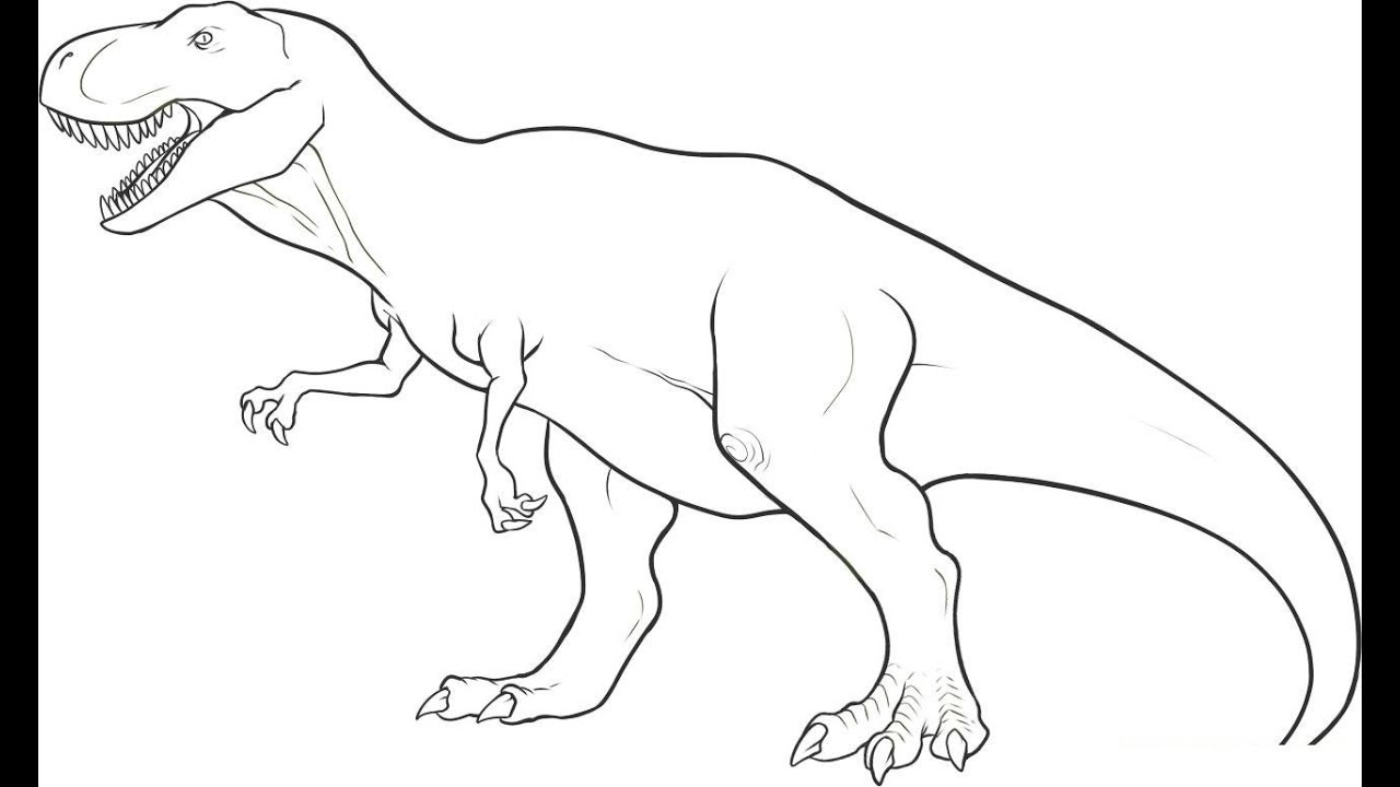 t rex outline drawing t rex drawing step by step art starts drawing t outline rex