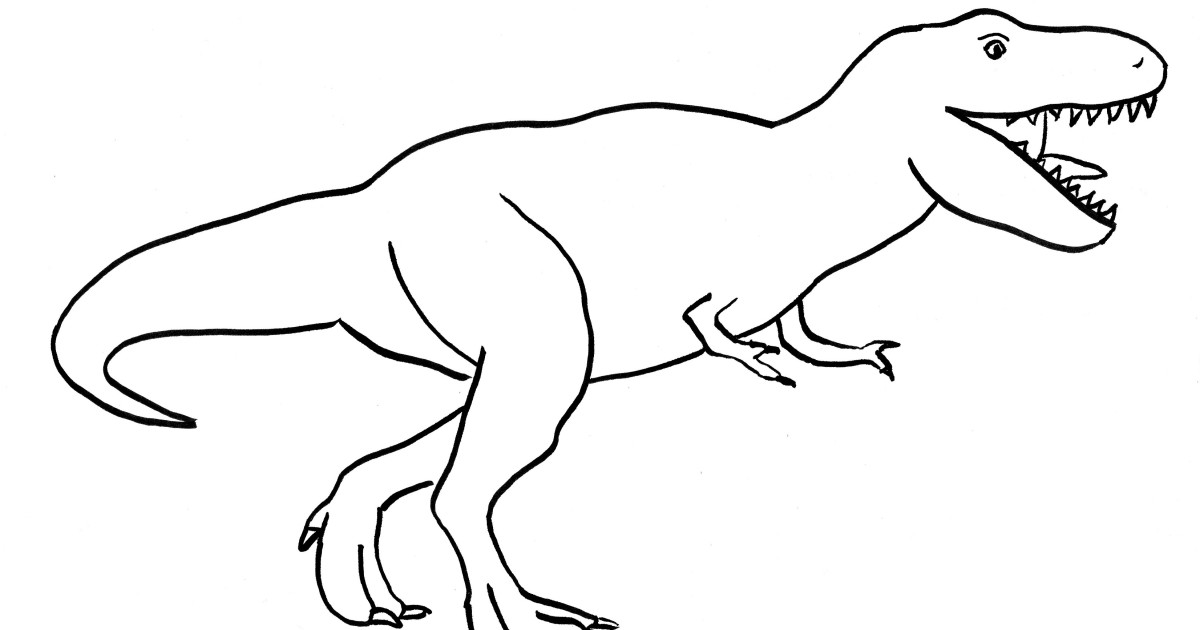 t rex outline drawing t rex head drawing at getdrawings free download rex outline t drawing