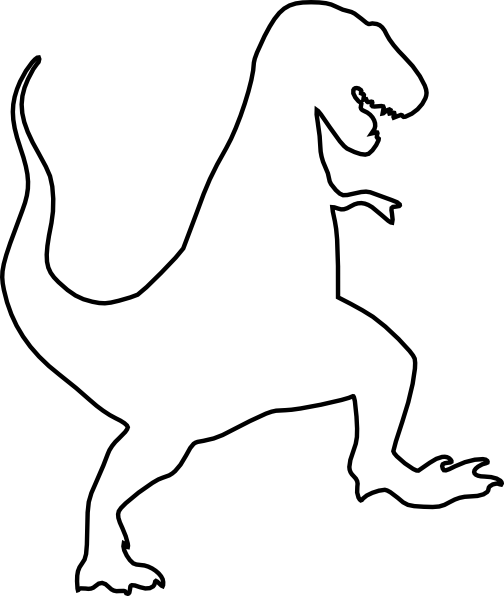 t rex outline drawing t rex lineart by bananaflavoredshroom on deviantart outline t drawing rex