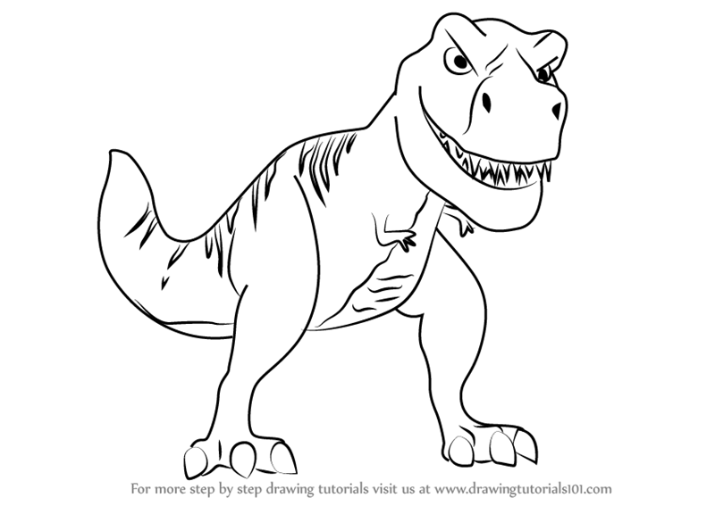 t rex outline drawing t rex pattern use the printable pattern for crafts drawing outline rex t