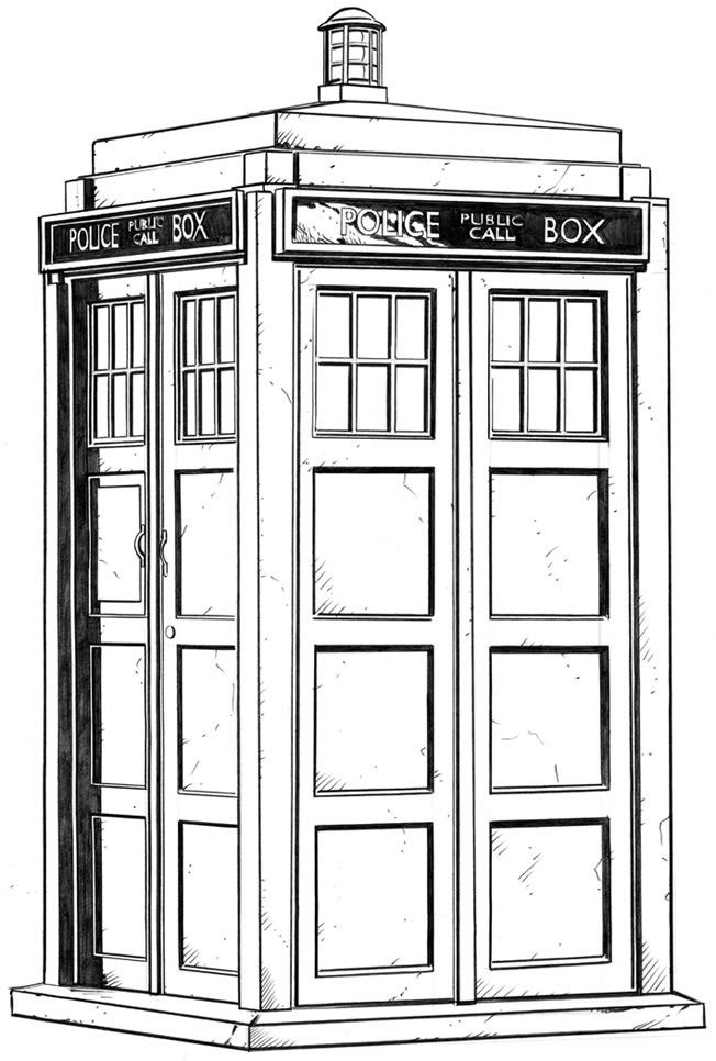 tardis pictures to print doctor who wibbly wobbly timey wimey coloring pages tardis to print pictures