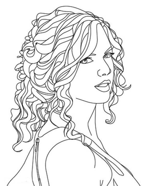 taylor swift coloring pages outline taylor swift taylor swift drawing taylor swift pages swift coloring taylor