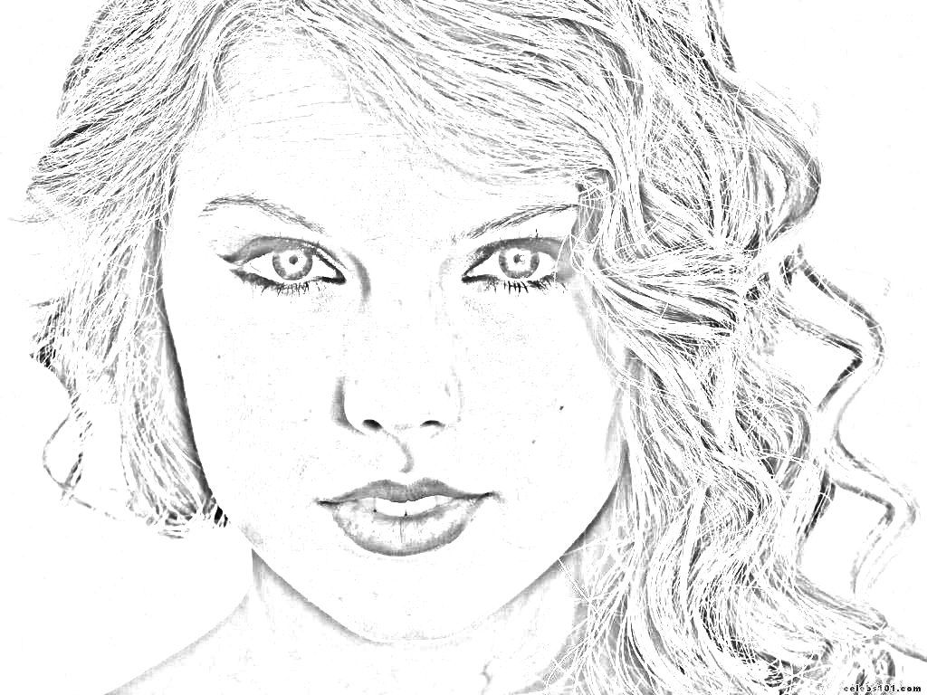 taylor swift coloring pages taylor swift 2 coloring pages printable swift pages coloring taylor