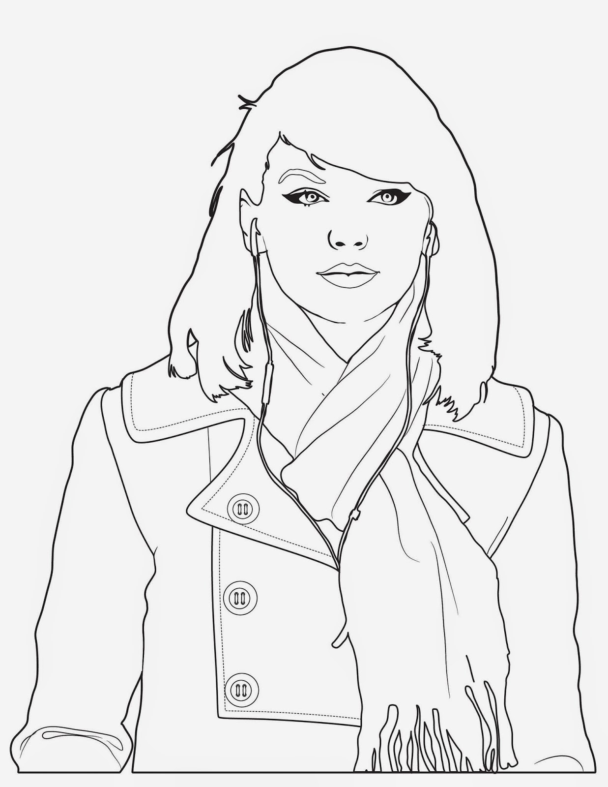 taylor swift coloring pages taylor swift free printable coloring pages coloring home coloring swift taylor pages