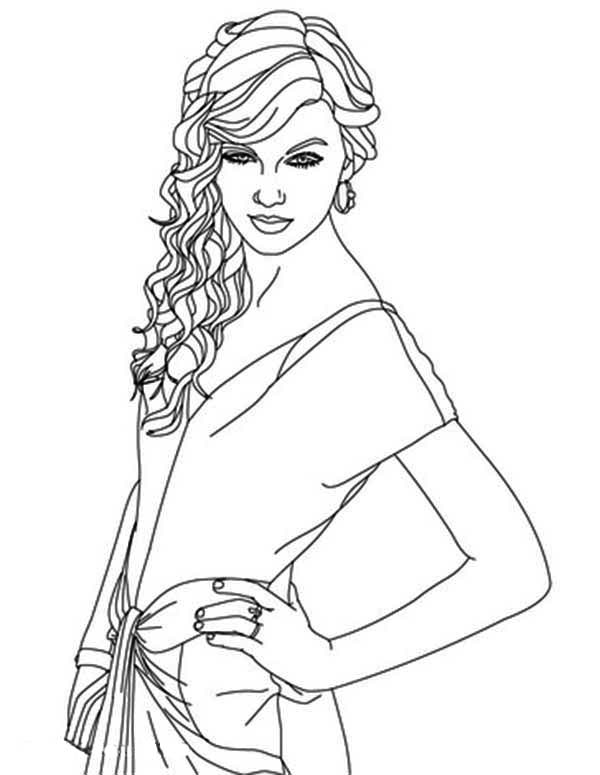 taylor swift coloring pages taylor swift free printable coloring pages coloring home swift taylor pages coloring