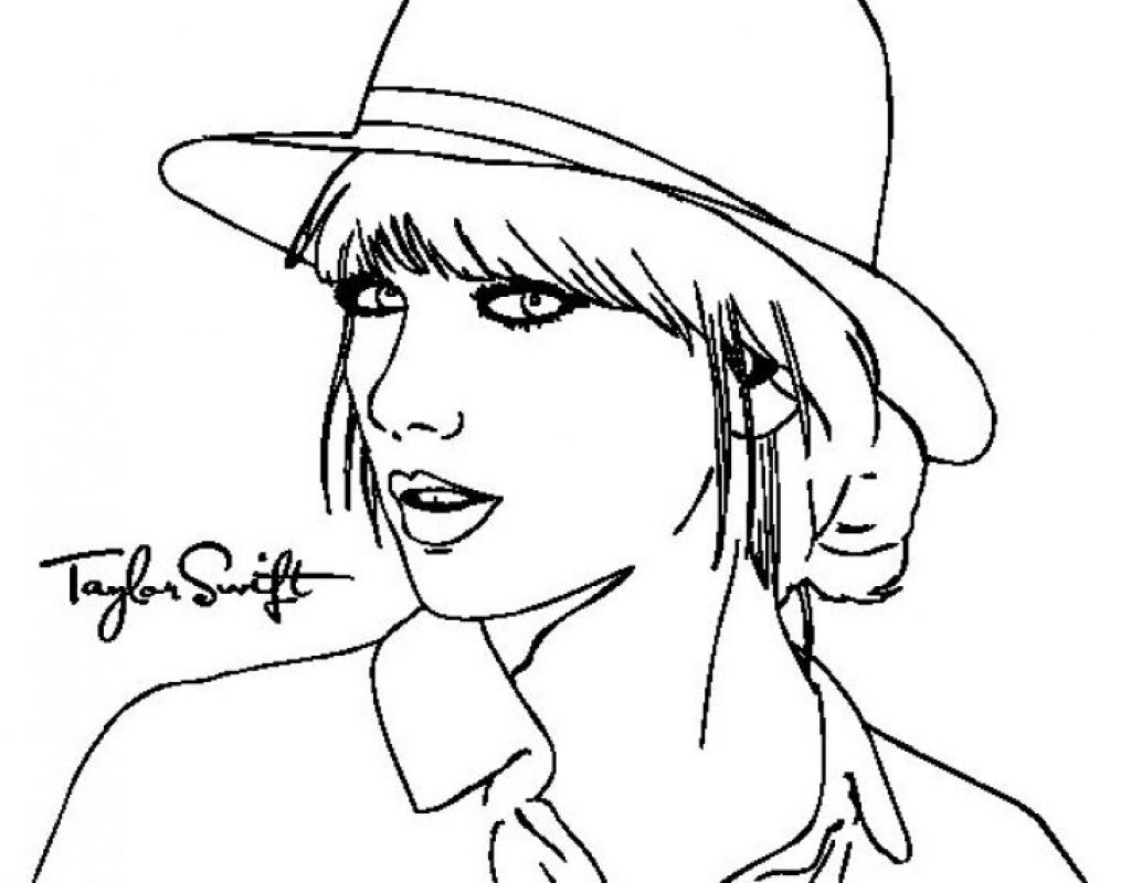 taylor swift coloring pages taylor swift singer to color printable coloring page pop stars swift pages taylor coloring