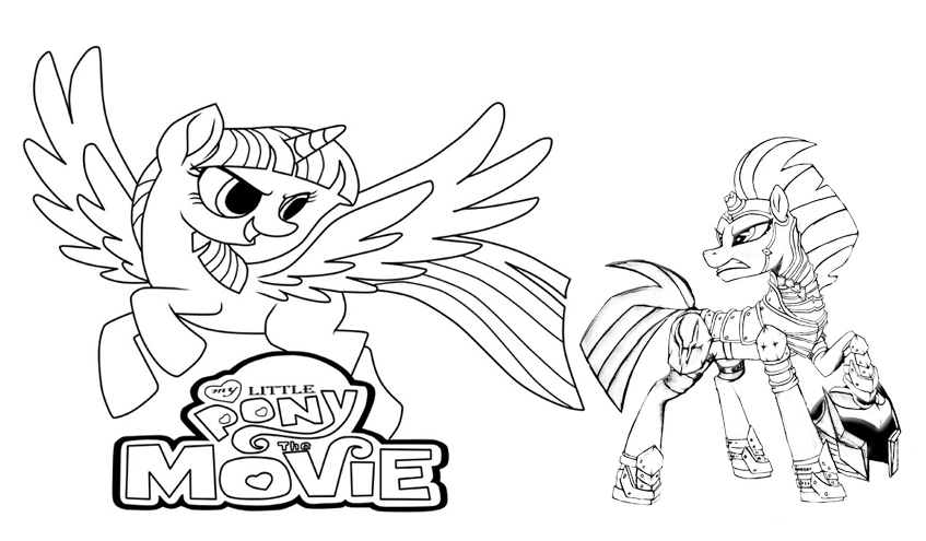 tempest pony coloring page coloring tempest shadow from my little pony the movie coloring pony page tempest