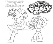 tempest pony coloring page my little pony coloring pages free printable page pony tempest coloring
