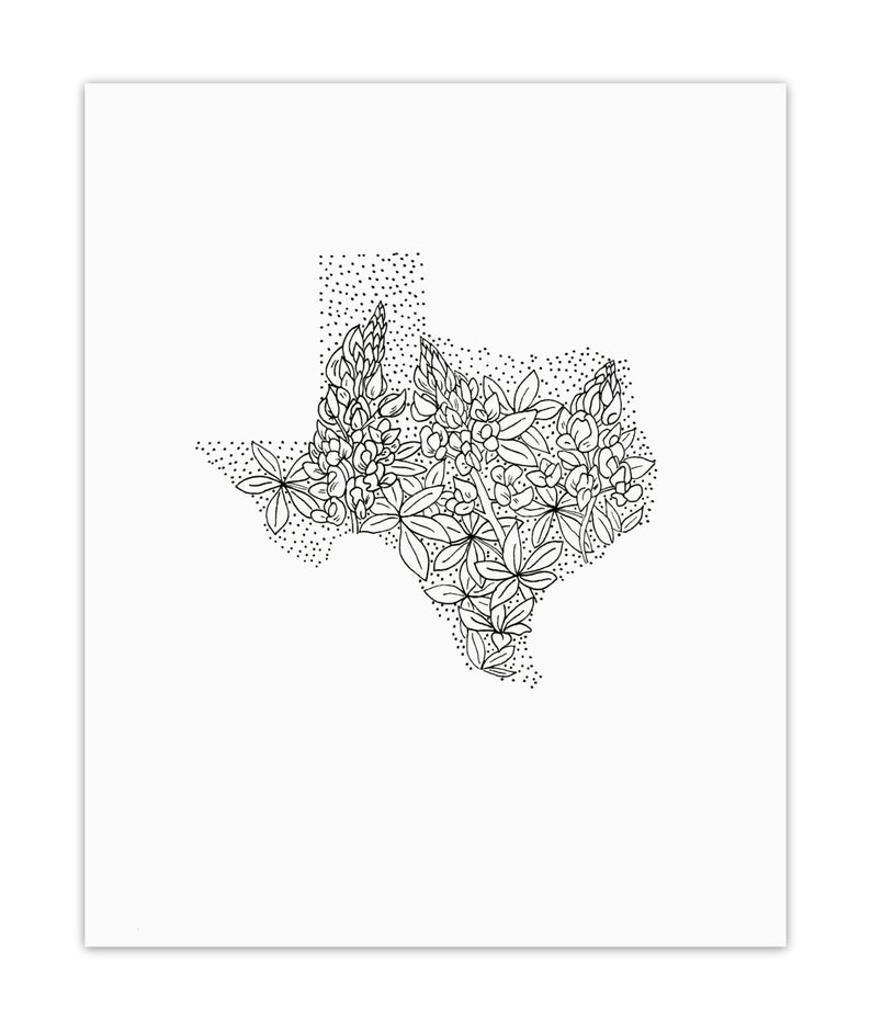 texas state flower texas state flower coloring page bluebonnet usa flower texas state