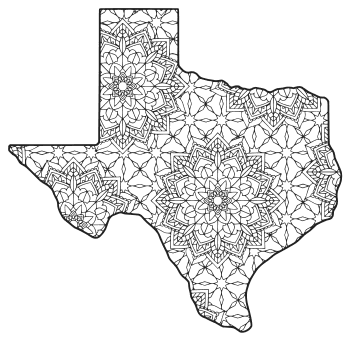 texas state seal coloring page texas symbols worksheets texas state symbols coloring state coloring seal texas page