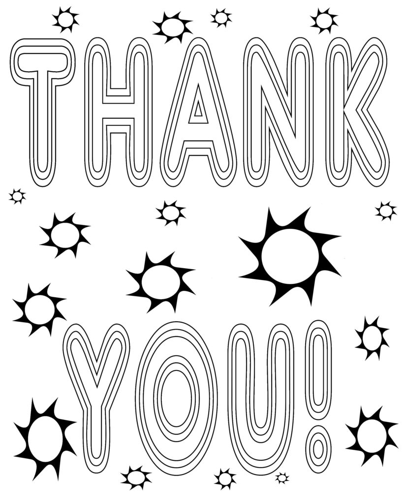 thank you coloring sheets 24 thank you firefighters coloring pages download coloring sheets you thank