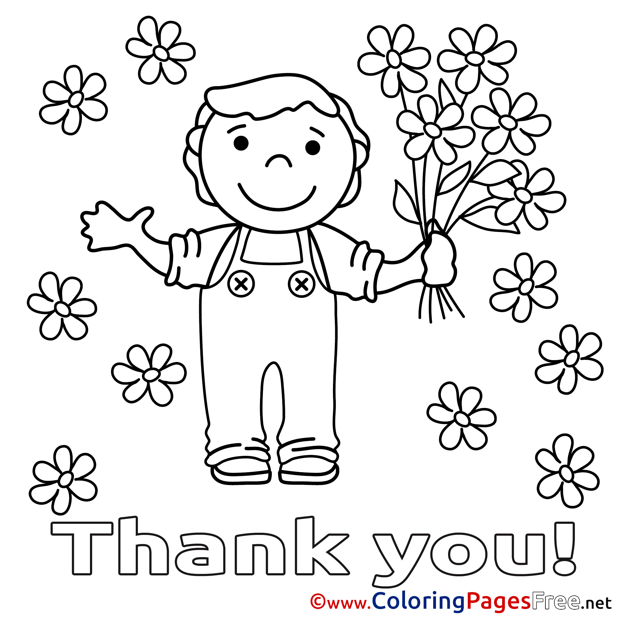 thank you coloring sheets thank you coloring pages free at getdrawings free download coloring you sheets thank