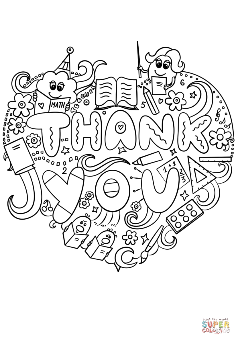thank you coloring sheets thank you coloring sheets for kids learning printable sheets you coloring thank