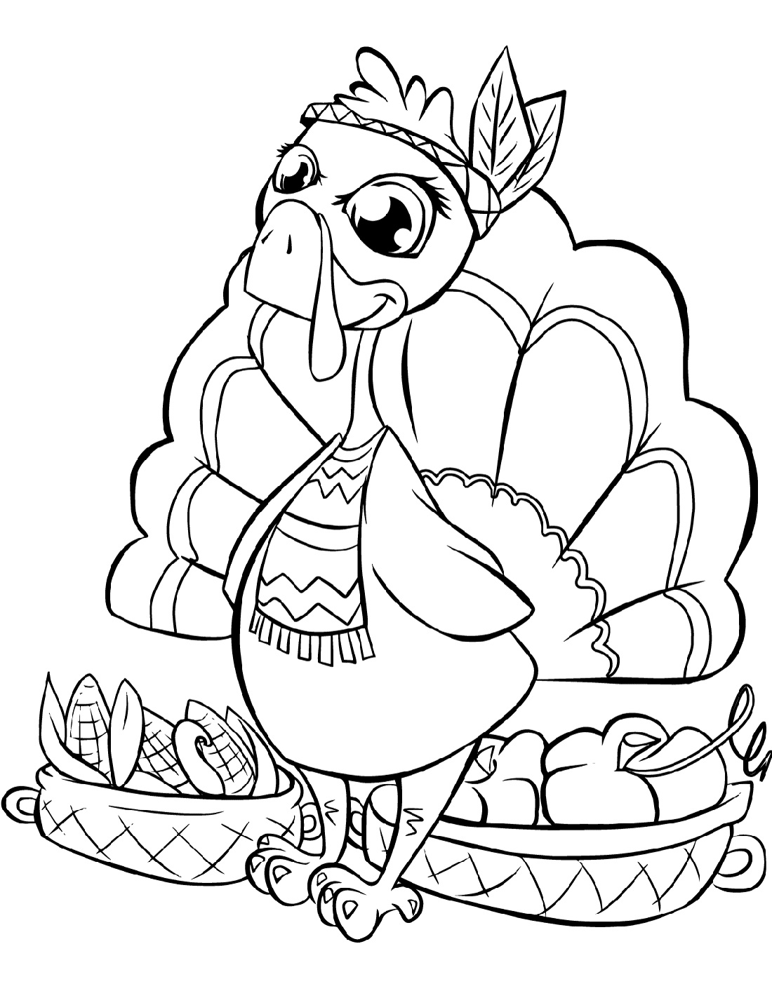 thanksgiving color page free printable thanksgiving coloring pages 101 coloring thanksgiving color page