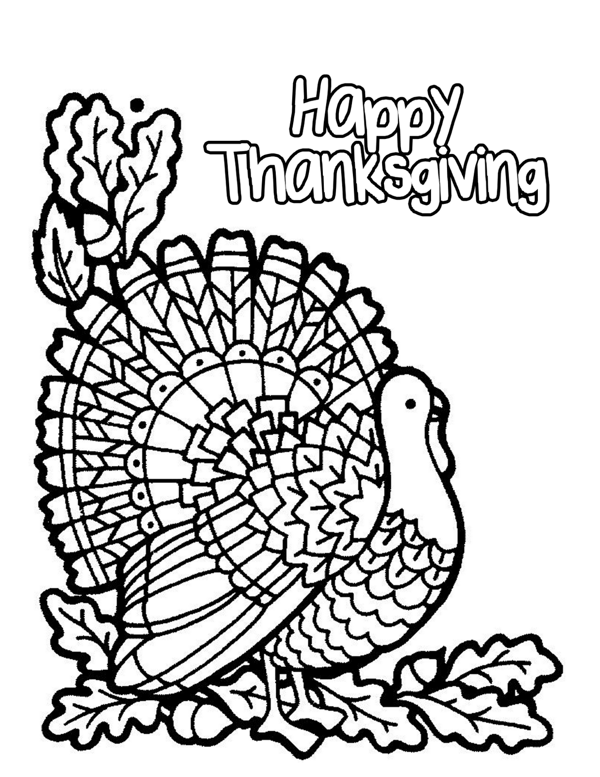 thanksgiving color page happy thanksgiving coloring pages to download and print thanksgiving page color
