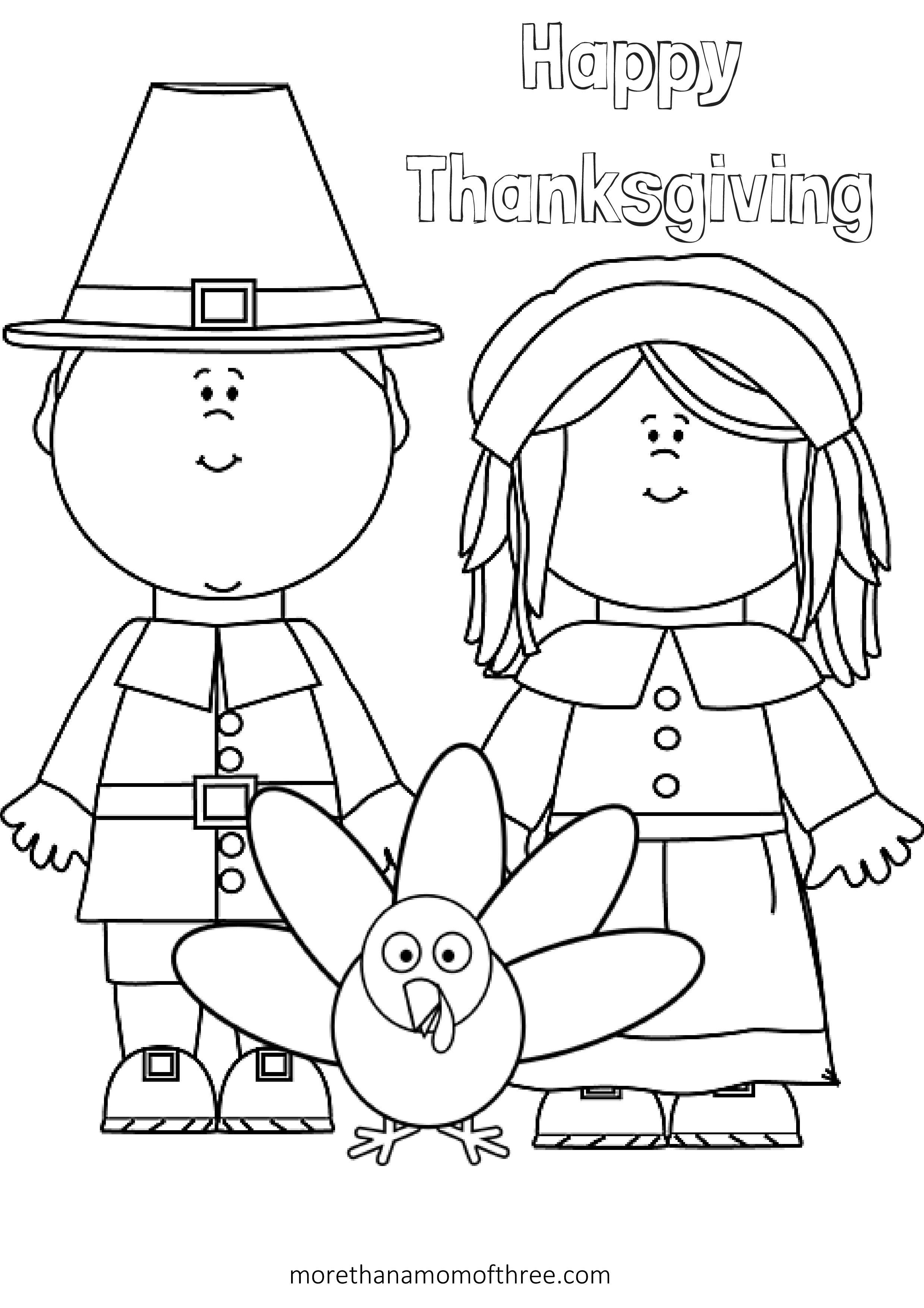 thanksgiving color page thanksgiving day coloring pages for childrens printable color page thanksgiving