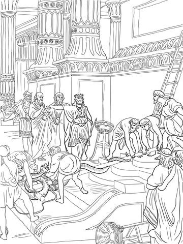 the bronze snake coloring page king hezekiah destroy brazen serpent coloring page bible bronze the snake page coloring
