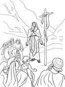 the bronze snake coloring page moses and bronze snake coloring page coloring snake the bronze page