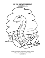 the bronze snake coloring page moses and bronze snake coloring page coloring the snake page bronze