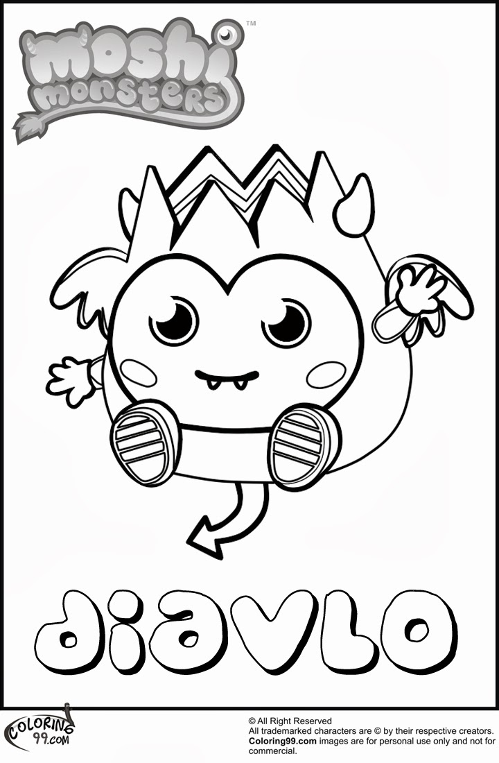 the color monster coloring pages diavlo moshi monster coloring pages team colors pages the color monster coloring