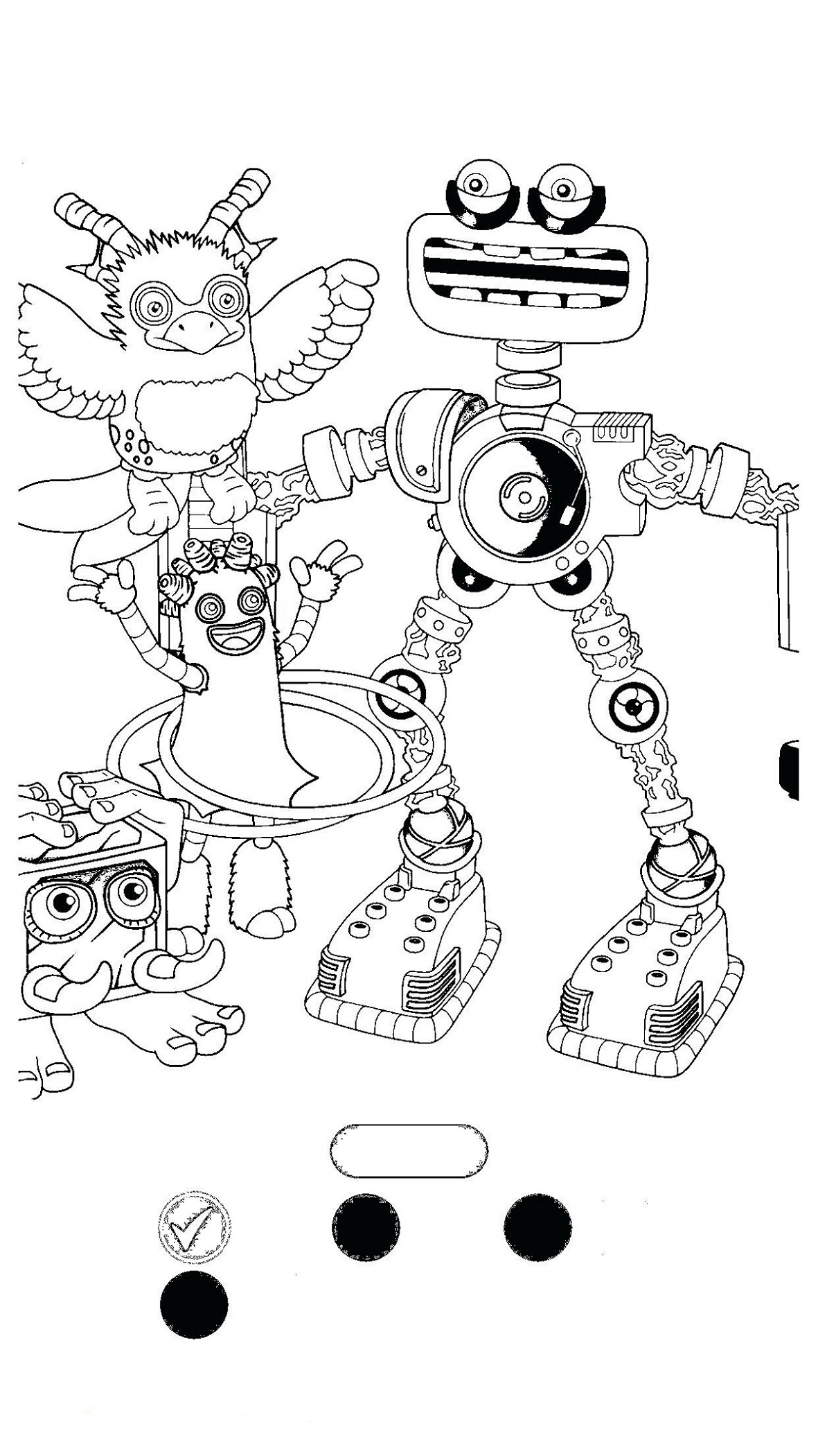 the color monster coloring pages my singing monsters coloring pages simple 101 worksheets coloring monster the pages color