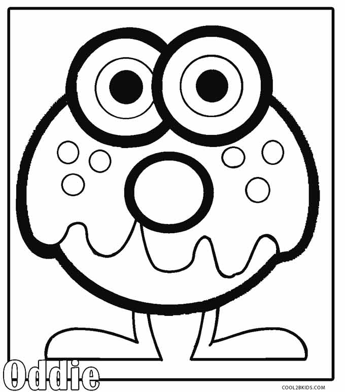 the color monster coloring pages printable moshi monsters coloring pages for kids cool2bkids color coloring the monster pages