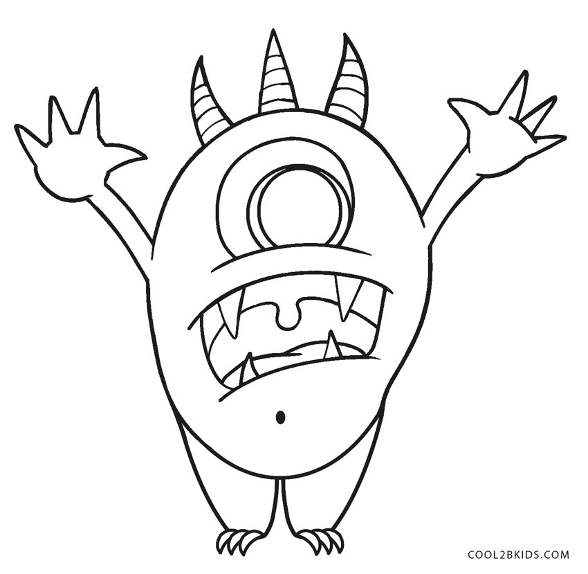 the color monster coloring pages super monsters coloring pages getcoloringpagescom coloring color the monster pages