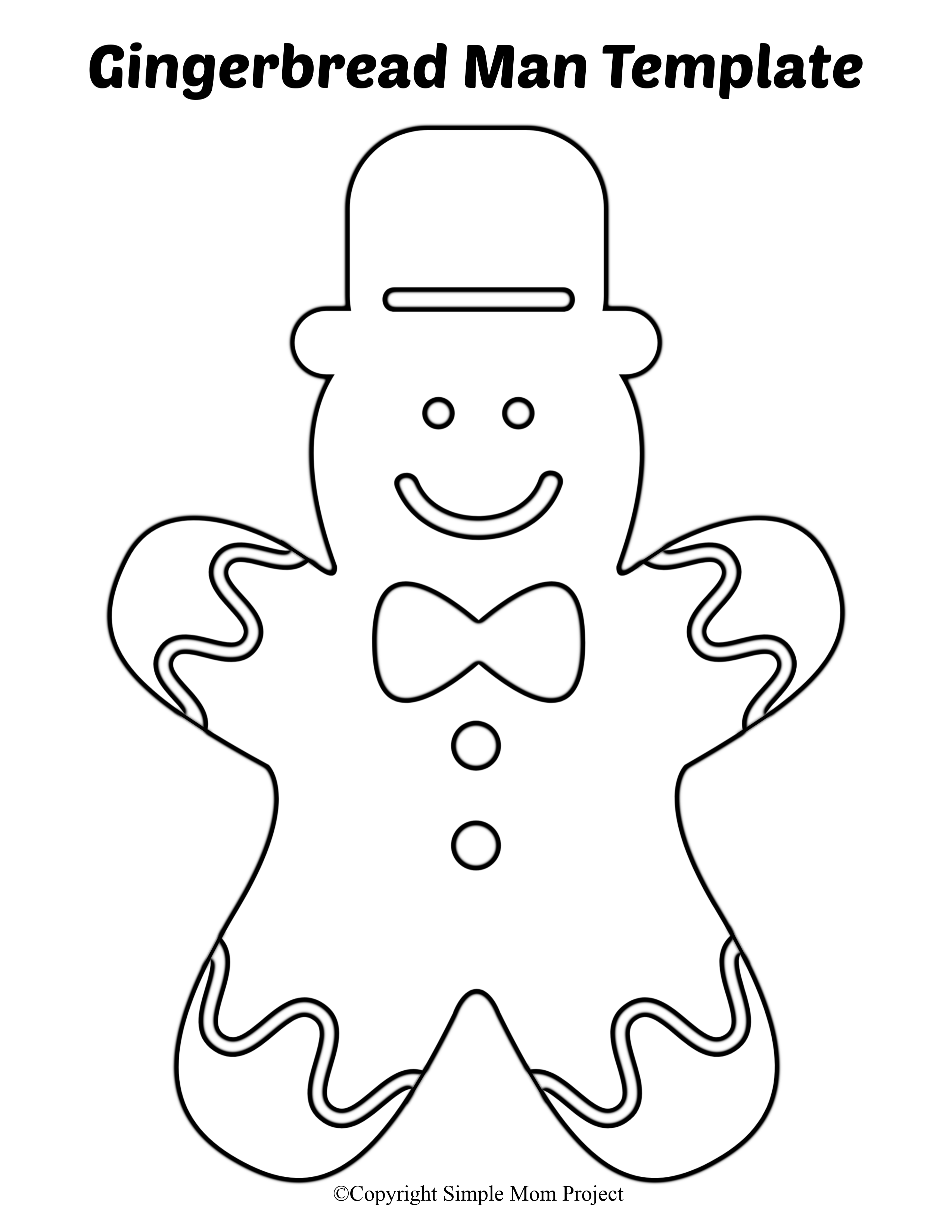 the gingerbread man template blank gingerbread man coloring page print color fun the gingerbread template man