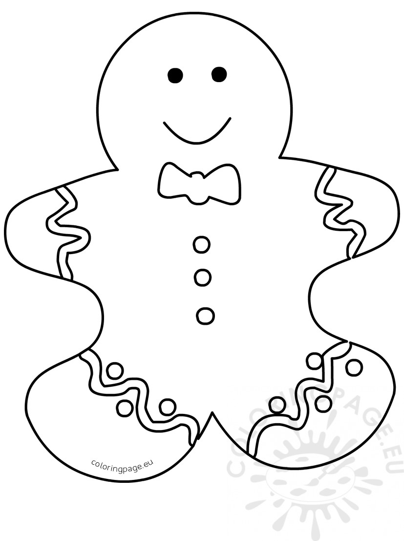 the gingerbread man template ginger bread man outline free download on clipartmag the template gingerbread man