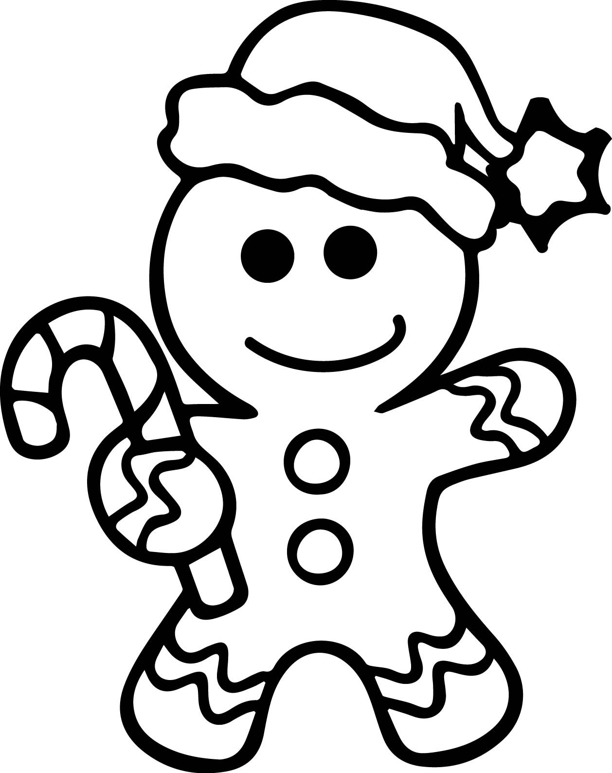 the gingerbread man template gingerbread man outline free download on clipartmag the gingerbread man template