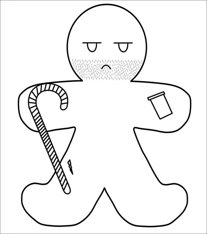 the gingerbread man template gingerbread man template free stock photo public domain gingerbread template the man