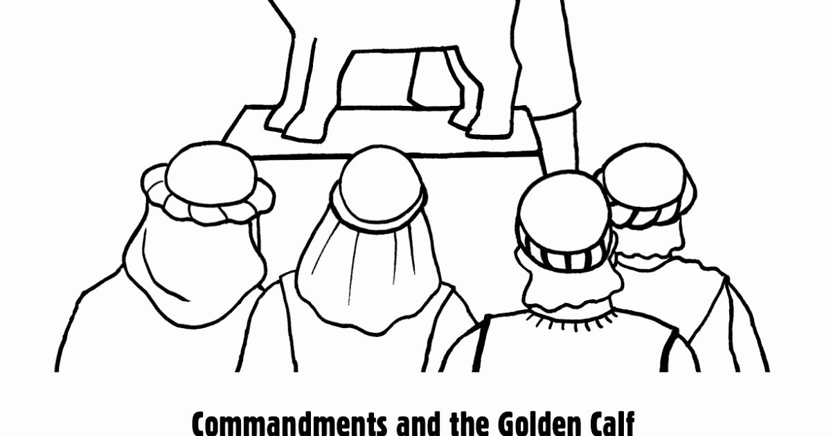 the golden calf coloring page 28 golden calf coloring page in 2020 with images the coloring golden calf page